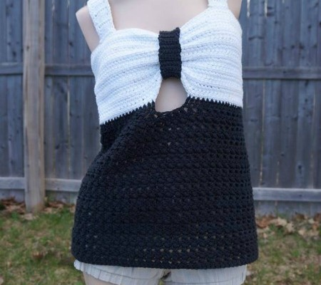 Fairest Lady free crochet tank top pattern