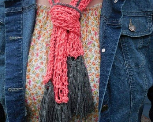 Free Summer Scarf Pattern