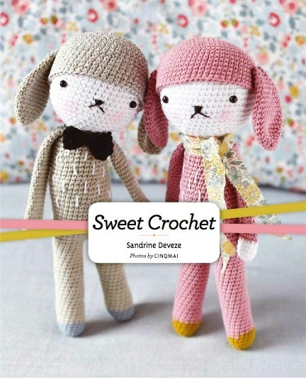 Sweet Crochet by Sandrine Deveze Review and Giveaway on Cre8tion Crochet