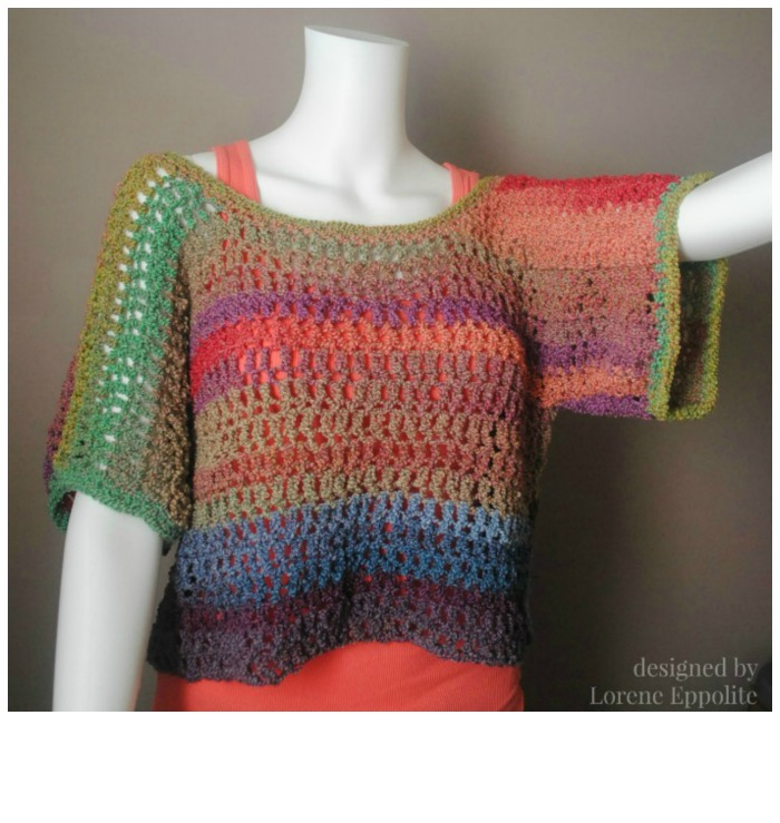 Textures Top Free Crochet Top Pattern Cre8tion Crochet