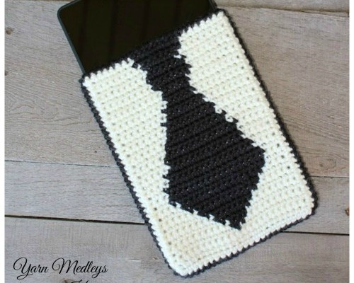Tie Tablet Cover free pattern for Fathers Day 2015