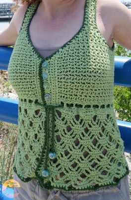 free crochet tank top pattern