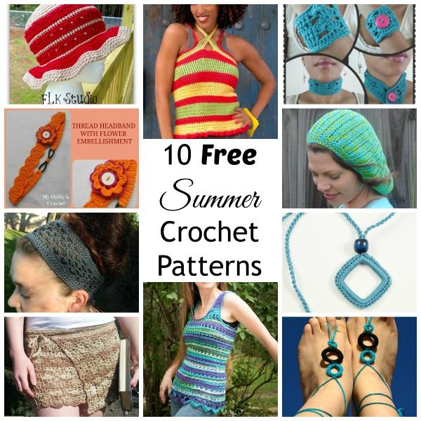 10 Free Summer Crochet Patterns Cre8tion Crochet