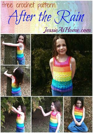 After the Rain Rainbow Tank by Jessie At Home