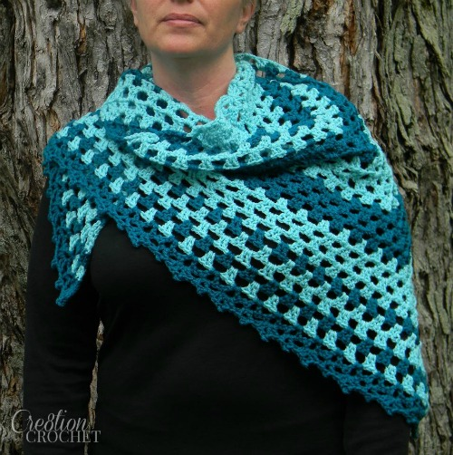 Shawl We Prayer Shawl.  New pattern available for release on July 3, 2015