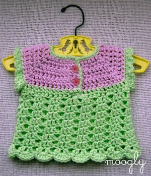 Summer Breeze Baby Sweater by Moogly