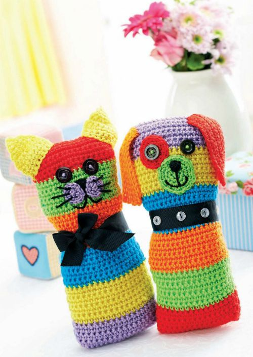 Free Toy Knitting Patterns Only : Free Crochet Toy Patterns - Cre8tion Crochet