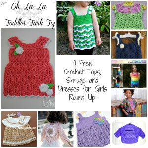 10 Free Crochet for Little Girls