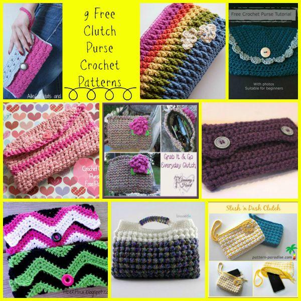 Clutch Purse Crochet Round Up Cre8tion Crochet