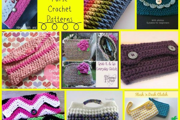 Clutch Purse Crochet Round Up