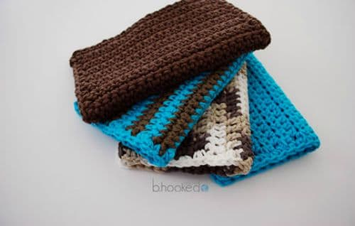 Crochet Washcloth Set