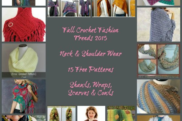 Fall Crochet Fashion Trends of 2015 – Neck & Shoulder Wear