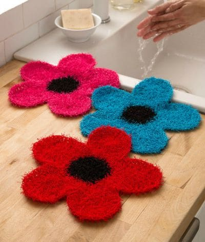 Fancy Flower Scrubber