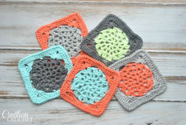 Free Crochet Lace Square Pattern