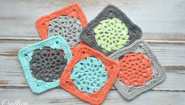 Free Lace Square Crochet Pattern
