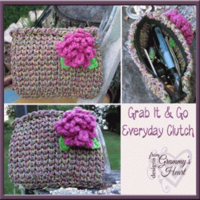 Grab It 'n' Go Clutch for Those On-the-Go