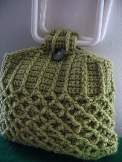 Honeycomb Knit Purse Crochet