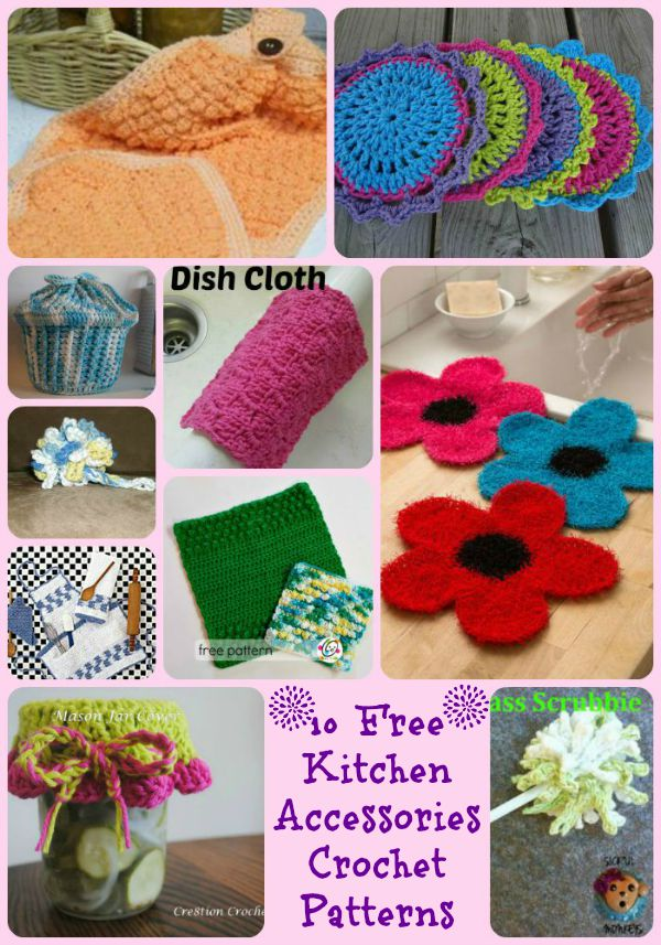 Crocheted kitchen accessories round up cre8tion crochet kitchen accessories round up dt1010fo