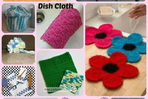 Crocheted Kitchen Accessories Round Up