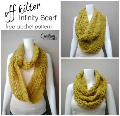Off Kilter Infinity Scarf