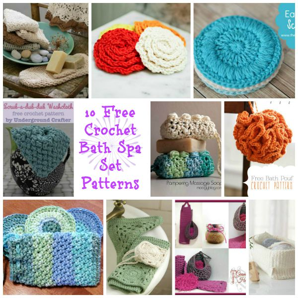 Bath And Spa Accessories Round Up Cre8tion Crochet