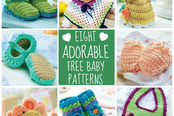 8 Adorable Free Baby Patterns
