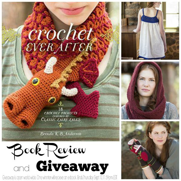 Crochet Ever After : Crochet Ever After Book Review and Giveaway - Cre8tion Crochet