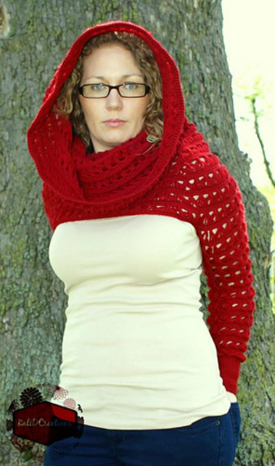 Marian's Long Sleeved Cowl