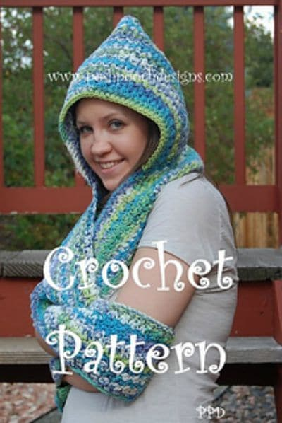 Scoodie - Hooded Scarf with Pockets