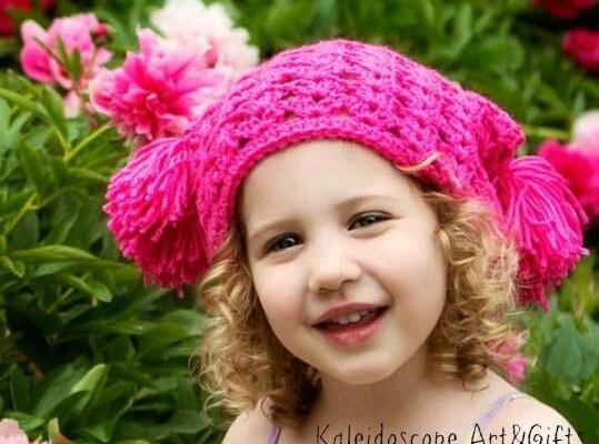 Shelby Shell Free Crochet Slouch Hat Pattern