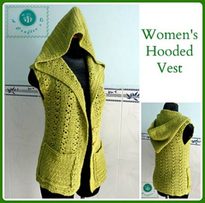 Women's Hooded Vest