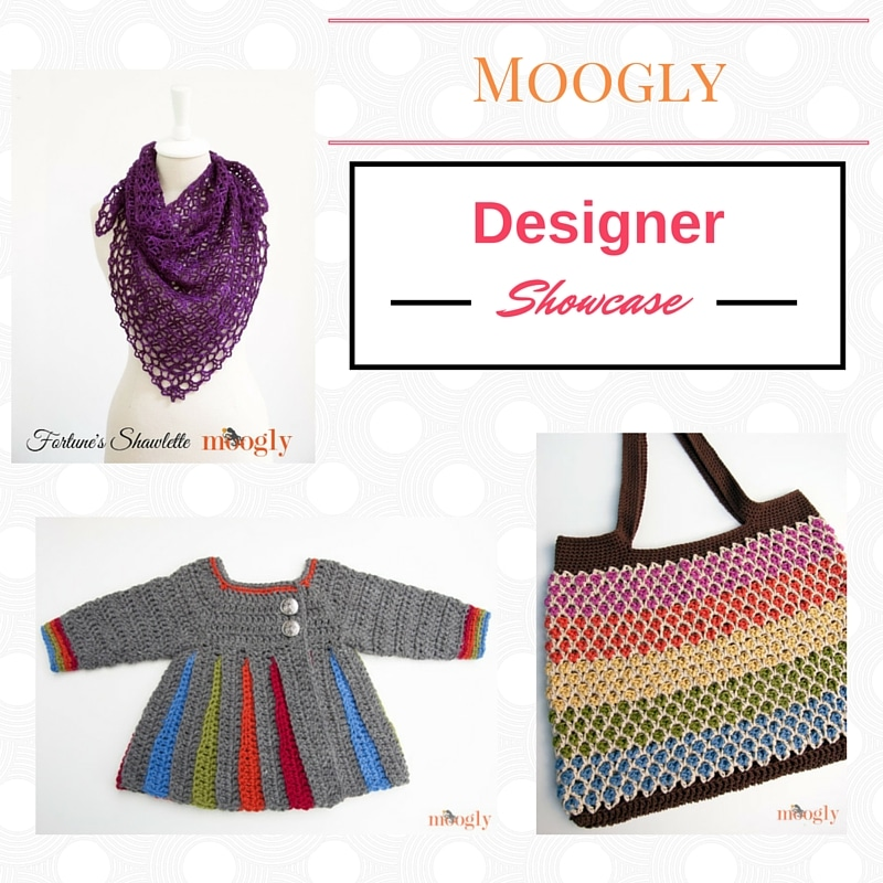 Cre8tion Crochet Designer Showcase featuring Moogly