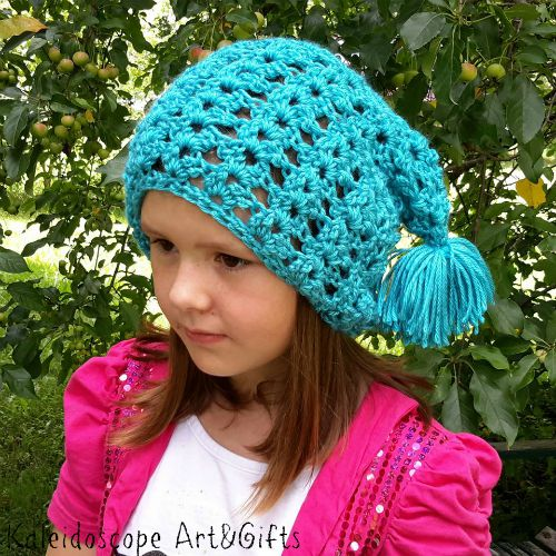 free pattern for the Shelby Shell Slouch