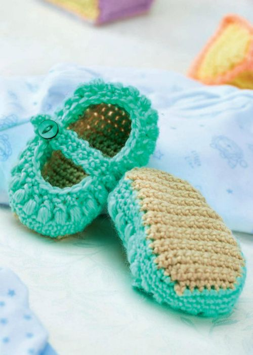 Crochet Baby Shoes Mary Jane Pattern : 8 Adorable Free Baby Patterns - Cre8tion Crochet