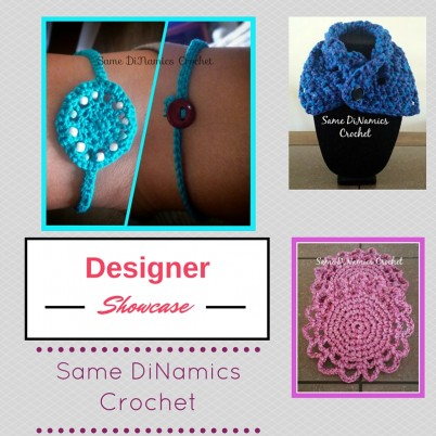 Cre8tion Crochet Designer Showcase featuring Same DiNamics Crochet