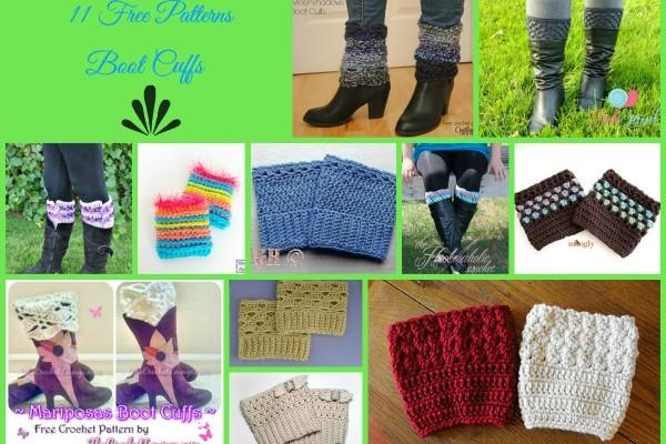 Boot Cuffs Free Crochet Patterns Compilation