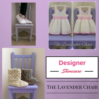 Cre8tion Crochet Designer Showcase featuring The Lavender Chair