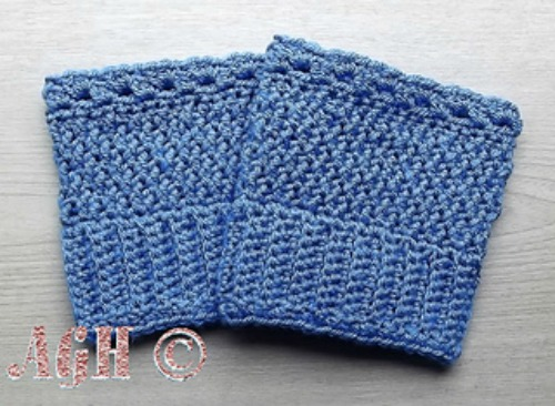Easy Reversible Boot Cuffs