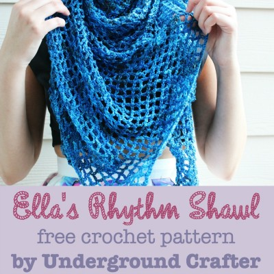 Crocheting Classes Nyc : Ellas-Rhythm-Shawl-free-crochet-pattern-by-Underground-Crafter-image-c ...