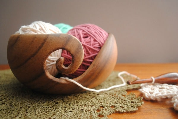 Furls Yarn Bowl