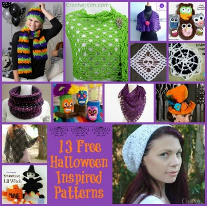 Halloween Colors Collage