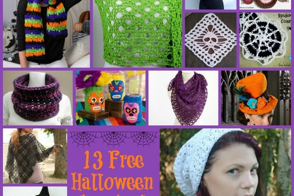 Halloween Crochet Patterns Inspired by Halloween Colors Round Up