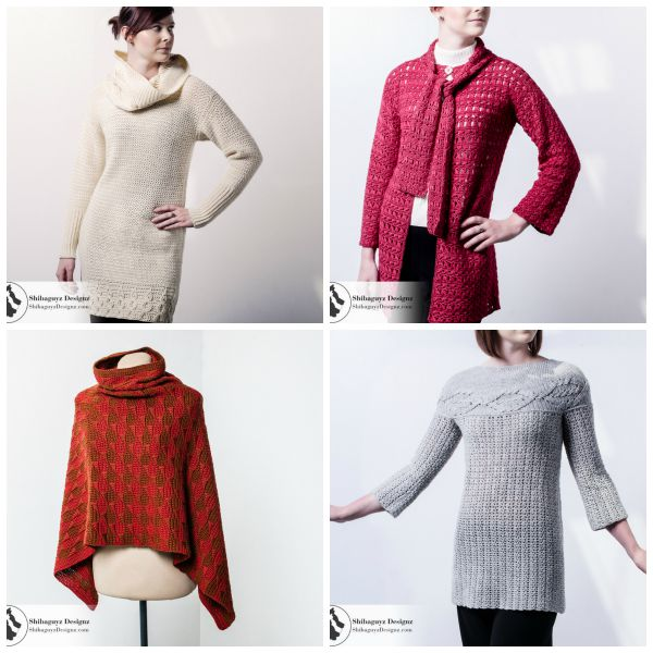 My favorite designs from Designer Crochet