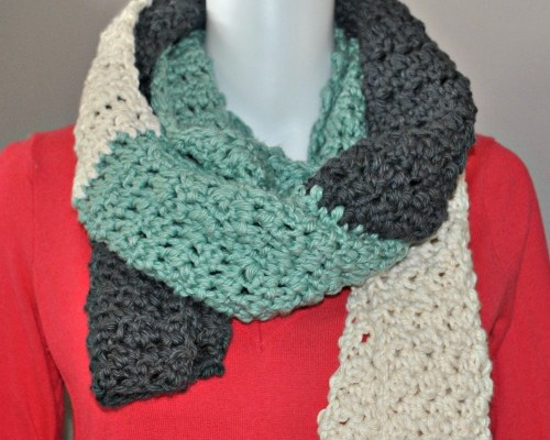 Free Crochet Scarf Pattern Stormy Skies