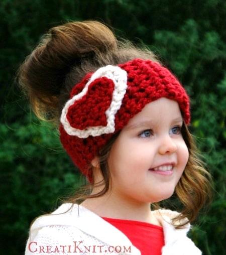 The Santa Hat · Cupid headwarmer free crochet pattern 8c45afdfd7fc