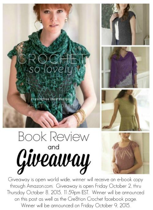 Win a copy of Crochet So Lovely 21 Carefree Lace Designs