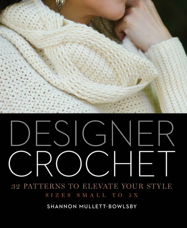 Designer Crochet book cover