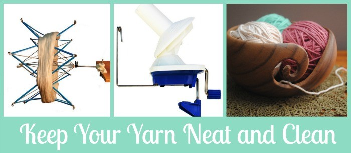 Crochet Tip Keep your Yarn Neat and Clean