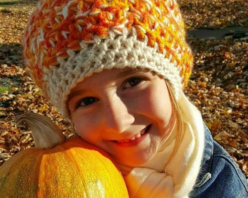 Perfectly Pumpkin Free Slouch Hat Pattern