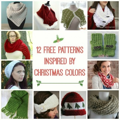 Christmas Colors Inspired Pattern Compilation